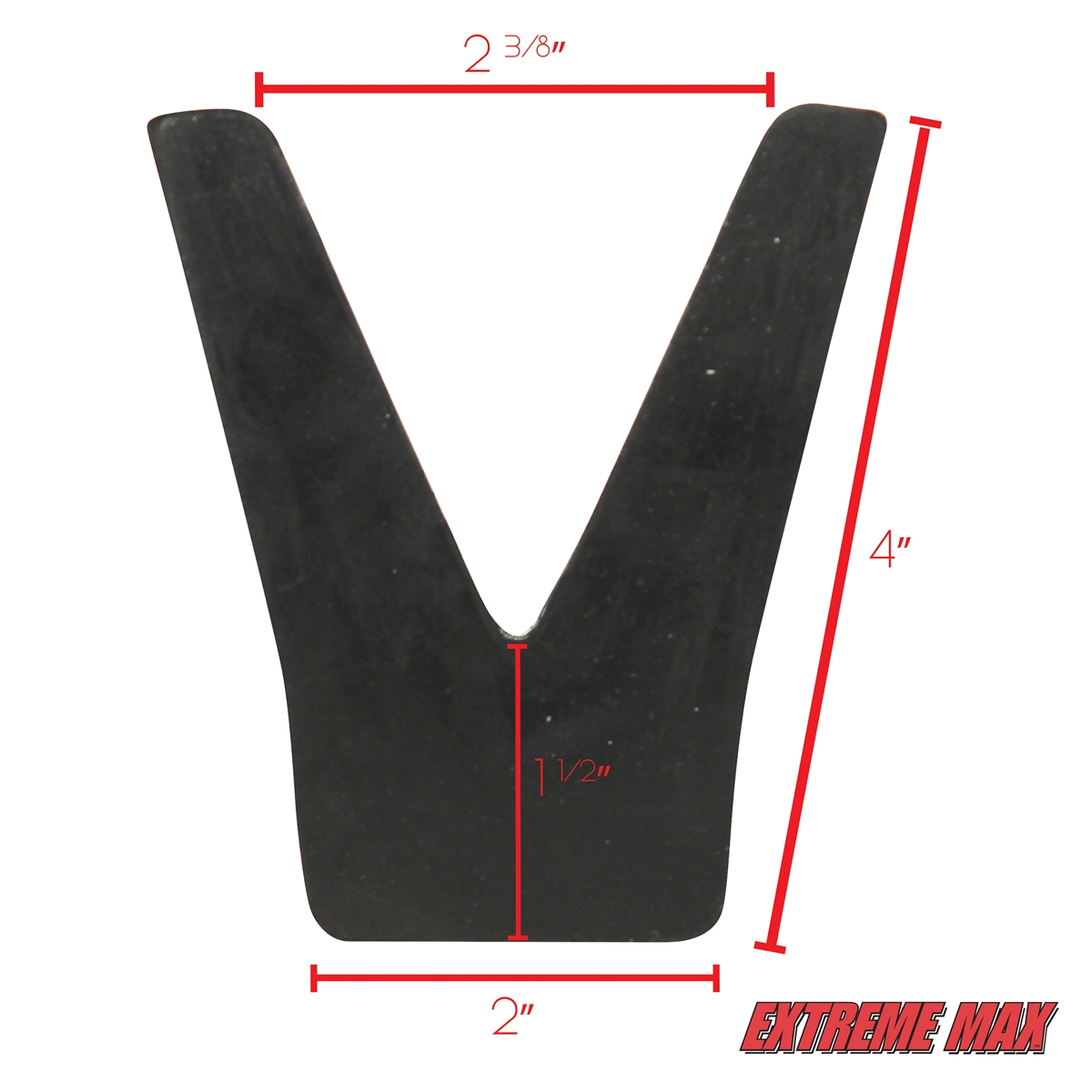 Extreme Max 3005 2187 Transom Saver Rubber V Block Only