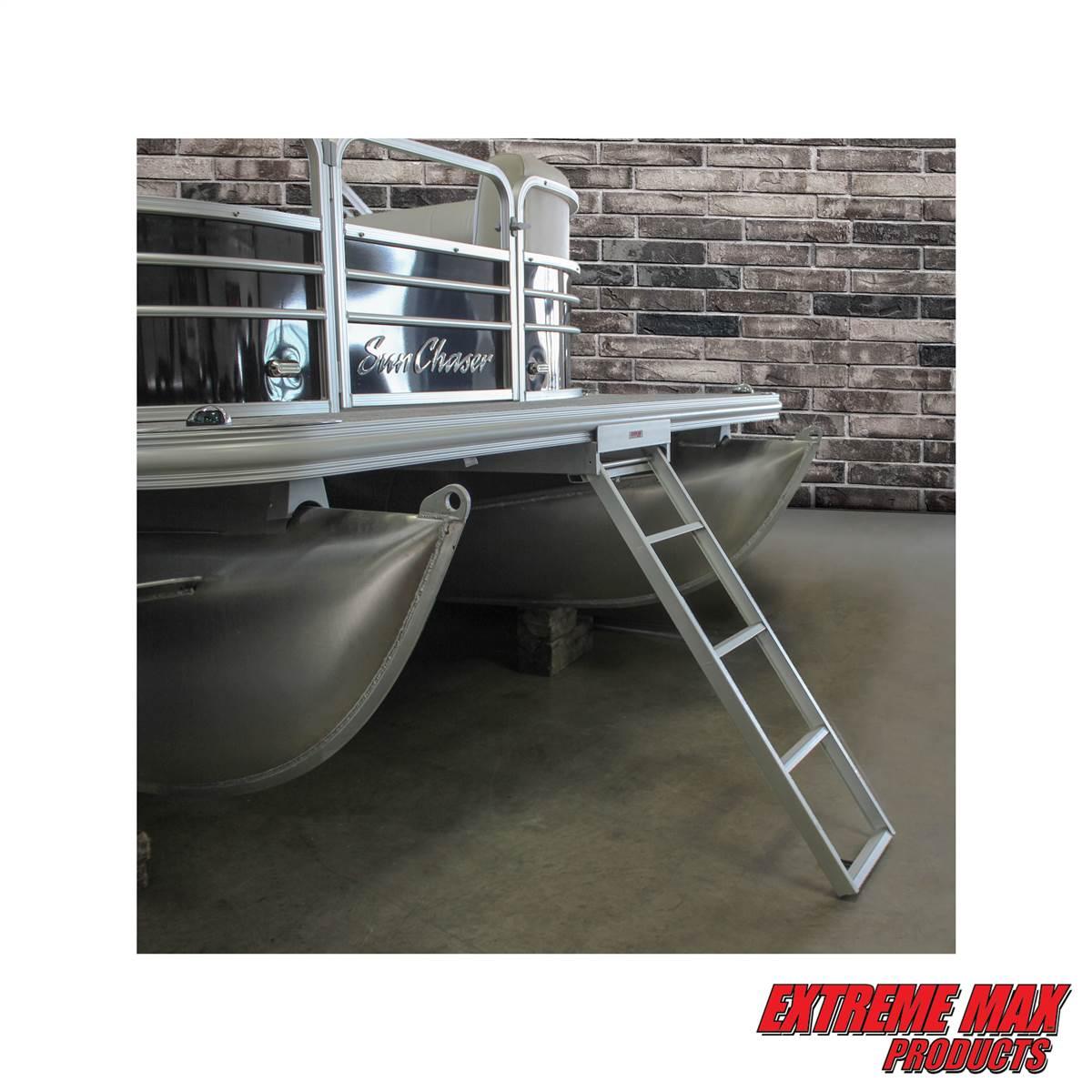 Extreme Max 3005 3434 Undermount Pontoon Ladder