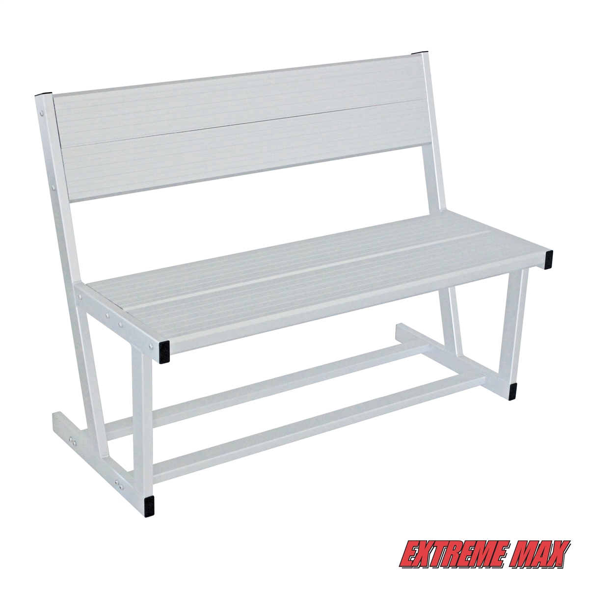 Extreme Max Universal Aluminum Dock And Patio Bench