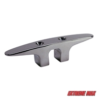 Extreme Max 3006.6759 Soft Point Stainless Steel Dock Cleat - 4.5""