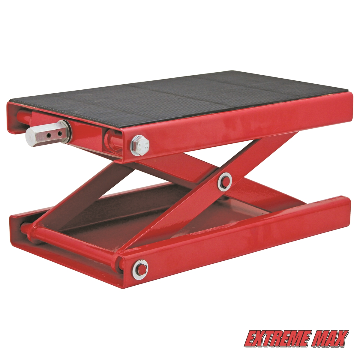 Extreme Max 5001 5044 1100 Lb Wide Motorcycle Scissor Jack