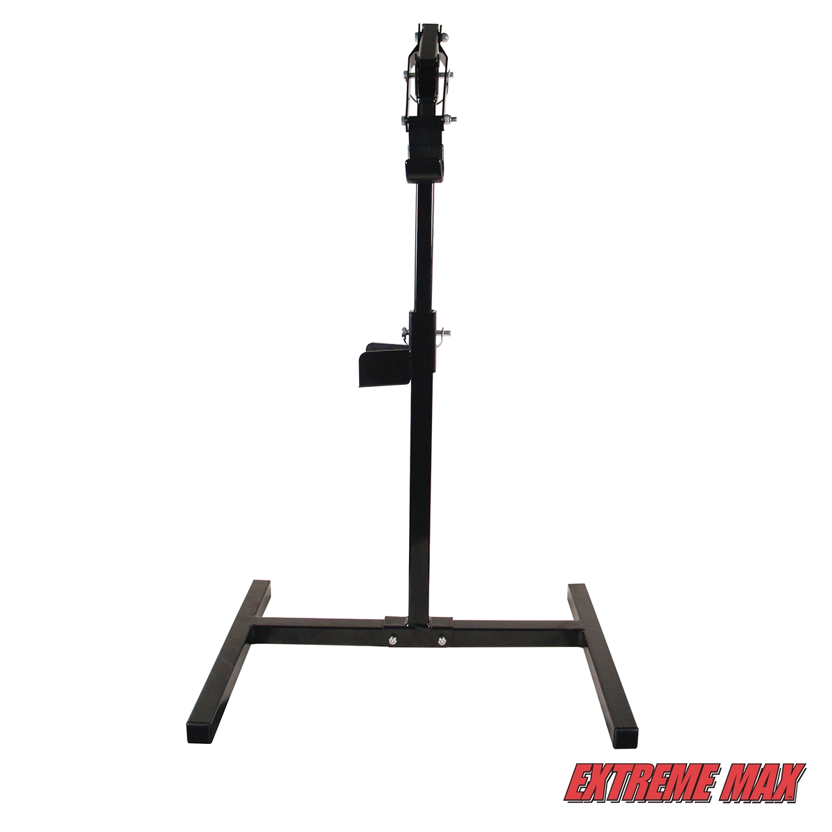 Lever Lift Stand : Extreme max  lever lift stand with handlebar cup