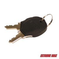 Extreme Max 9002.9950 Replacement Key for Boat Lift Boss with Gray Cover