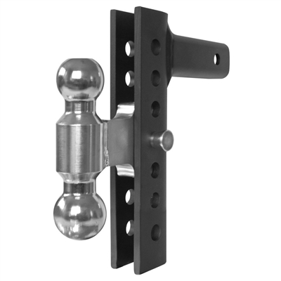 "Andersen Hitches 3296 8"" EZ Adjust Hitch with 2"" x 2-5/16"" Combo Ball"
