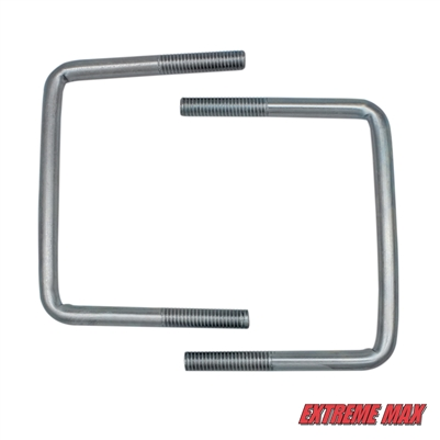 Extreme Max 3001.0077 Hardware Kit for High-Mount Spare Tire Carrier (3001.0064) - 5""