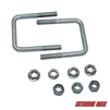 Extreme Max 3001.4128 Hardware Kit for High-Mount Spare Tire Carrier (3001.0064) - 3""