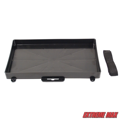 Extreme Max 3003.2806 Battery Tray Holder with Strap - Group 27