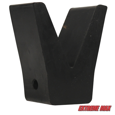 Extreme Max 3005.2187 Transom Saver - Rubber V-Block Only