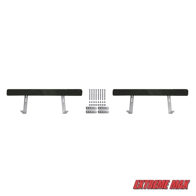 Extreme Max 3005.2199 Bunk Trailer Guide-On, Pair - 4'