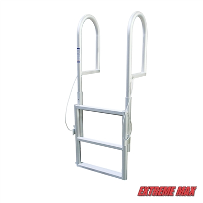 Extreme Max 3005.3458 Sliding Dock Ladder - 3 Step