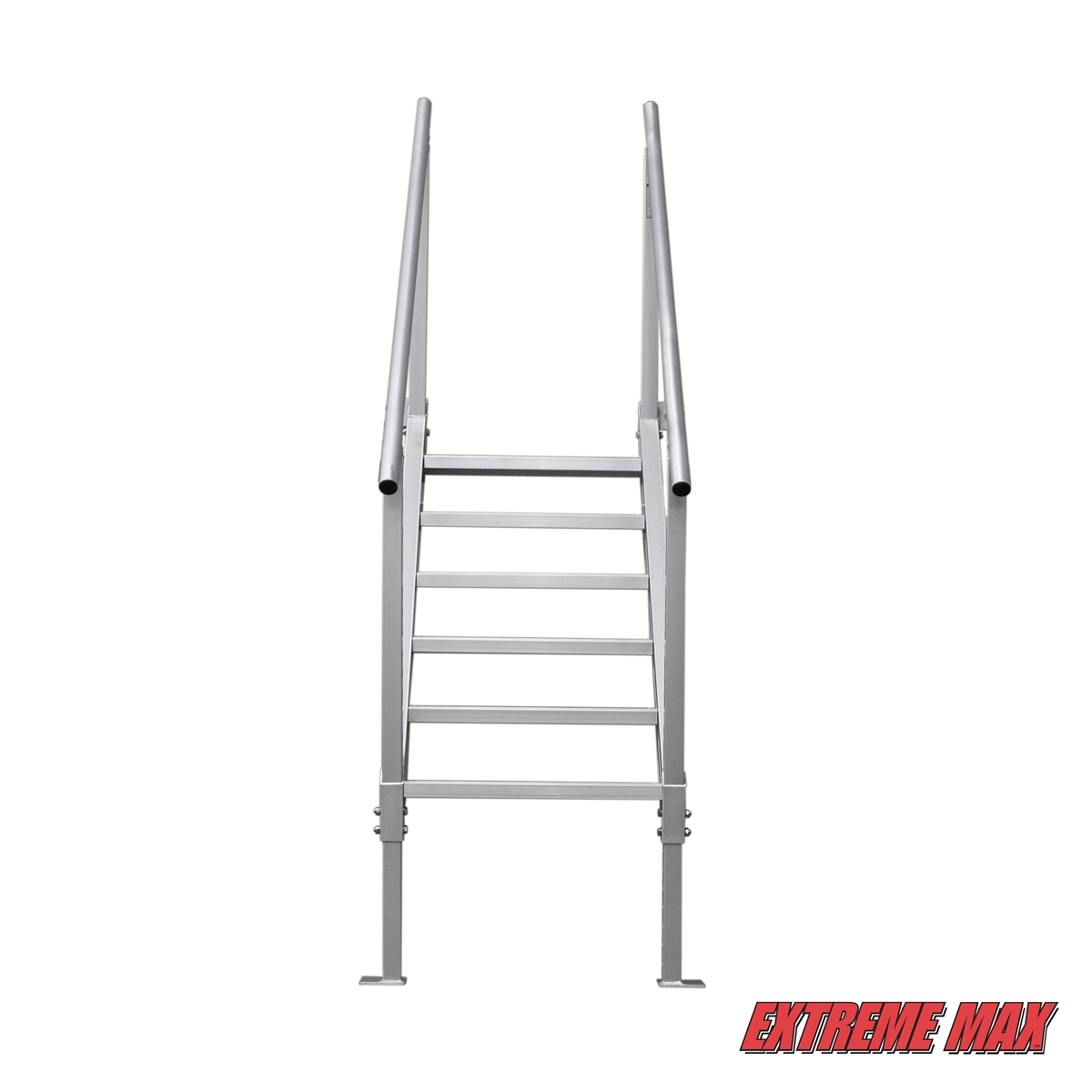 Extreme Max 3005 3846 Universal Mount Aluminum Dock Stairs