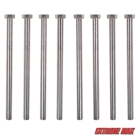 "Extreme Max 3005.4056 9"" Bolt Kit for Guide-Ons on Trailer Frames up to 7"" High"