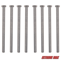 "Extreme Max 3005.4059 10"" Bolt Kit for Guide-Ons on Trailer Frames up to 8-1/2"" High"
