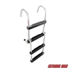 Extreme Max 3005.4086 Folding 4-Step Pontoon Ladder