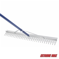 "Extreme Max 3005.4095 Commercial Grade Screening Rake for Beach and Lawn Care - 36"" Head"