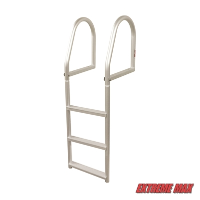 Extreme Max 3005.4168 Fixed Dock Ladder - 3-Step