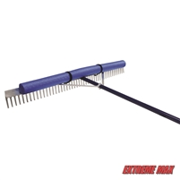 "Extreme Max 3005.4254 48"" Floating Weed Lake Rake with 11' Extension Handle and 50' Rope"