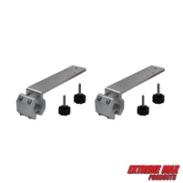 Extreme Max 3005.4269.2 Marine Rail Mount Bracket for Kuuma-Style BBQ Grill - Pack of 2