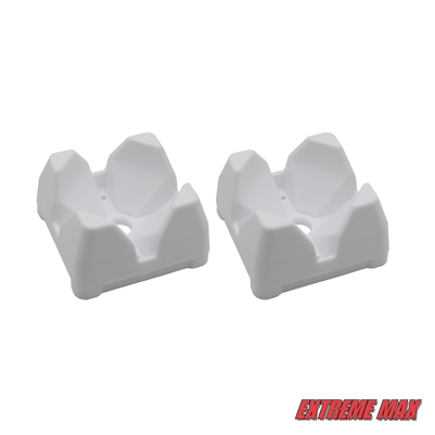 Extreme Max 3005.5008 Downrigger Weight Holder - 2-Pack, White