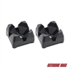 Extreme Max 3005.5011 Downrigger Weight Holder - 2-Pack, Black