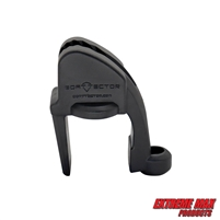 Extreme Max 3005.5091 BoatTector Quick Adjust Pontoon Rail Fender Hanger - Black, Pack of 4