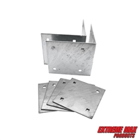 Extreme Max 3005.5516 Dock Inside Corner Bracket Kit - Includes Two Inside Corners and Four Backer Plates