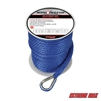 "Extreme Max 3006.2060 BoatTector 3/8"" x 100' Premium Solid Braid MFP Anchor Line with Thimble - Royal Blue"