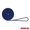 "Extreme Max 3006.2096 BoatTector 3/8"" x 20' Premium Double Braid Nylon Dock Line - Royal Blue"