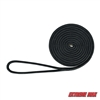 "Extreme Max 3006.2108 BoatTector 1/2"" x 15' Premium Double Braid Nylon Dock Line - Black"