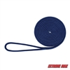 "Extreme Max 3006.2111 BoatTector 1/2"" x 15' Premium Double Braid Nylon Dock Line - Royal Blue"