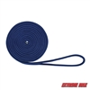 "Extreme Max 3006.2120 BoatTector Double Braid Nylon Dock Line - 1/2"" x 20', Royal Blue"