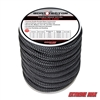 "Extreme Max 3006.2309 BoatTector Double Braid Nylon Dock Line - 3/4"" x 30', Black"