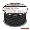"Extreme Max 3006.2315 BoatTector 3/4"" x 50' Double Braid Nylon Dock Line - Black"