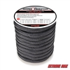 "Extreme Max 3006.2318 BoatTector 3/4"" x 60' Double Braid Nylon Dock Line - Black"
