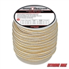 "Extreme Max 3006.2321 BoatTector 3/4"" x 30' Double Braid Nylon Dock Line - White & Gold"