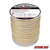 "Extreme Max 3006.2329 BoatTector 3/4"" x 60' Double Braid Nylon Dock Line - White & Gold"