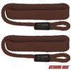 "Extreme Max 3006.2344 BoatTector Solid Braid MFP Fender Line Value 2-Pack - 3/8"" x 5', Burgundy"