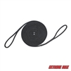 "Extreme Max  3006.2388 BoatTector 5/8"" x 30' Premium Double Looped Nylon Dock Line for Mooring Buoys - Black"