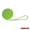 "Extreme Max 3006.2427 BoatTector Double Braid Nylon Dock Line - 3/8"" x 15', Neon Green"