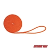 "Extreme Max 3006.2429 BoatTector Double Braid Nylon Dock Line - 3/8"" x 15', Neon Orange"