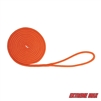 "Extreme Max 3006.2439 BoatTector Double Braid Nylon Dock Line - 3/8"" x 20', Neon Orange"