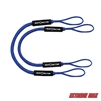 Extreme Max 3006.2568 BoatTector Bungee Dock Line Value 2-Pack - 4', Blue