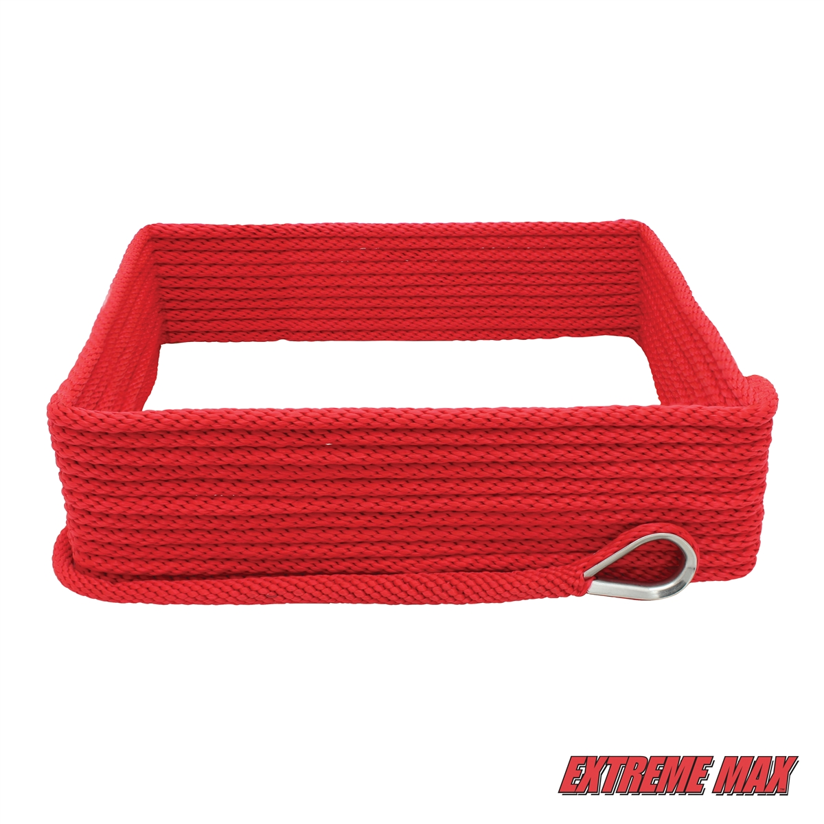 """Extreme Max BoatTector Solid Braid MFP Dock Line Red 3//8/"""" x 15/'"""