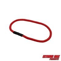 Extreme Max 3006.3162 BoatTector Bungee Dock Line Extension Loop - 1', Red (Value 4-Pack)