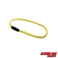 Extreme Max 3006.3165 BoatTector Bungee Dock Line Extension Loop - 1', Yellow/White (Value 4-Pack)