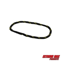 Extreme Max 3006.3168 BoatTector Bungee Dock Line Extension Loop - 1', Black/Gold (Value 4-Pack)