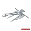 Extreme Max 3006.6518 BoatTector Galvanized Slip Ring Anchor - #15 / 8 lbs.