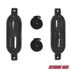 "Extreme Max 3006.7204 BoatTector Fender Value 2-Pack - 6.5"" x 22"", Black"