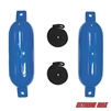 "Extreme Max 3006.7207 BoatTector Fender Value 2-Pack - 6.5"" x 22"", Blue"