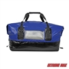 Extreme Max 3006.7345 Dry Tech Water-Resistant Roll-Top Duffel Bag - 110 Liter, Blue